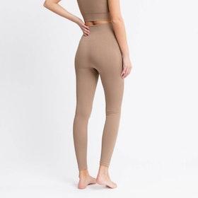 Yogaleggings Seamless Jeane Polish Brown - DOM