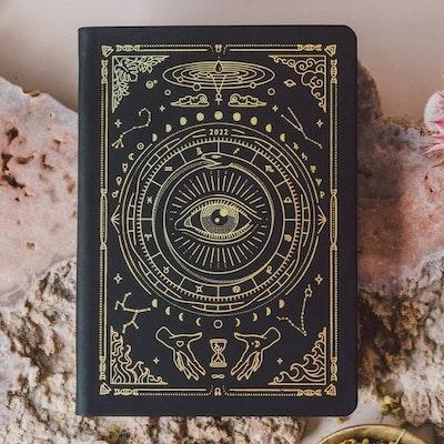 Kalender 2022 Astrological Planner Black A5 - Magic of I