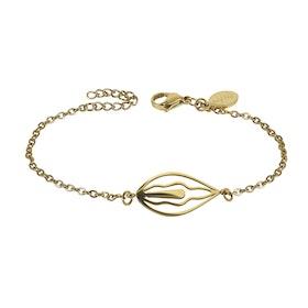 Armband Snippa Gold - Härligt Ärligt