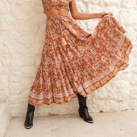 Kjol Maxi Southern Sun ''Amber'' - Mahli the Label