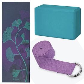 Yoga-kit Lily Shadow 4mm - Gaiam