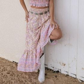 Kjol Maxi Neon Moon ''Desert Rose'' - Mahli the Label