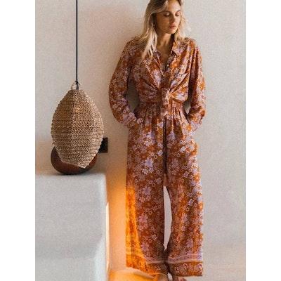 Lounge Set Golden Haze ''Amber'' - Mahli the Label
