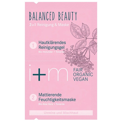 Balanced Beauty 2in1 Mask Elderberry Kaolin