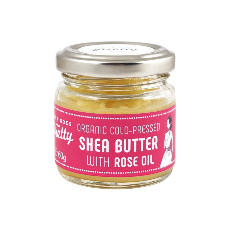 Shea Butter & Rose Oil 60gr