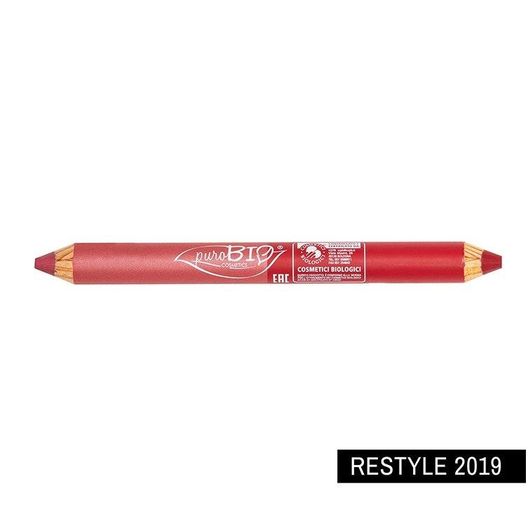 DUO Lipstick Pencil 01 Coral Cherry