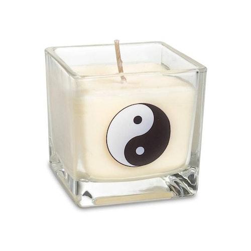 Doftljus av rapsvax Vit, Yin Yang