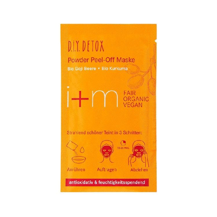 Detox Powder Peel-Off Mask Goji Turmeric