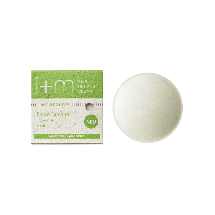 WE REDUCE Solid Shower Bar Hemp 50 gr