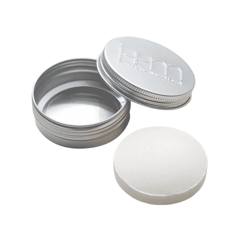 Aluminiumdosa för förvaring av tvål