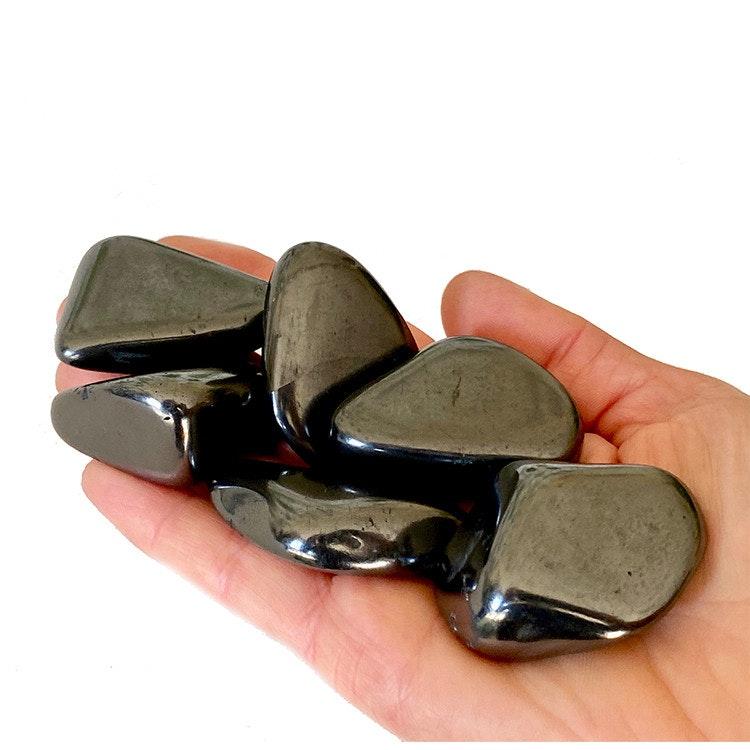 Shungit tumlade stenar 4-6 cm, 200 g