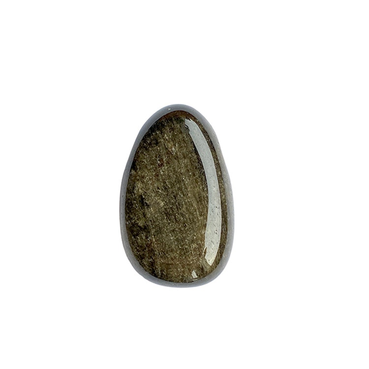 Obsidian guld hängsmycke A
