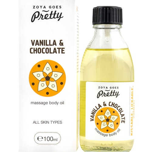 Massage Body Oil Vanilla & Chocolate