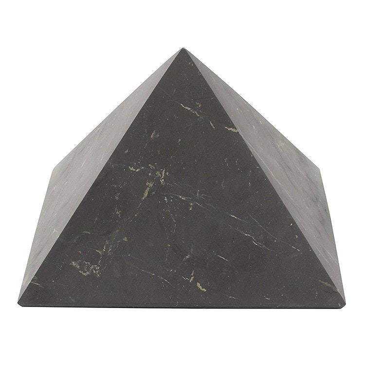 Shungit pyramid opolerad 15 cm