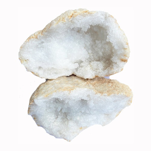 Bergkristall geod Stor 10-15 cm