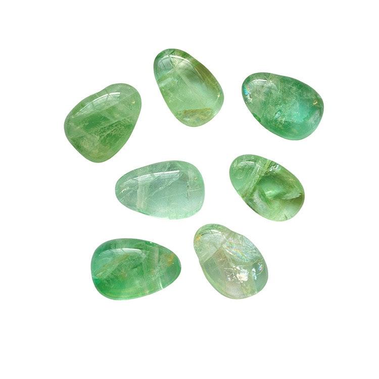 Grön Fluorit hängsmycke A