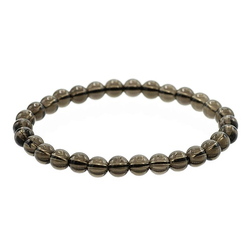Rökkvarts armband 6 mm pärlor