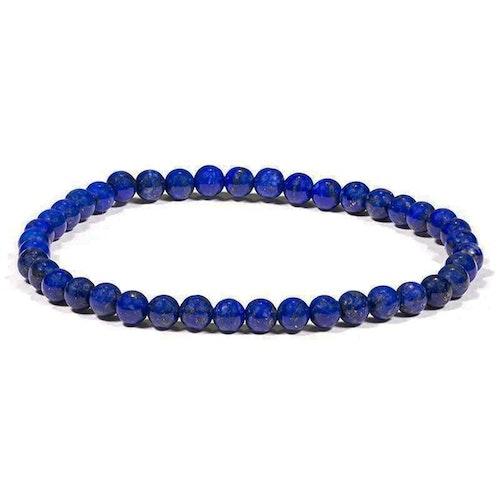 Lapis Lazuli armband 4 mm pärlor