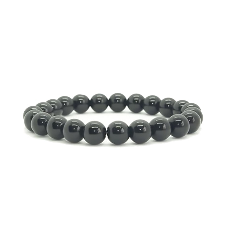 Shungit armband 8 mm pärlor