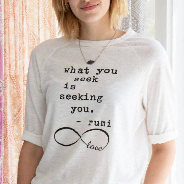 Tröja - What you seek is seeking you