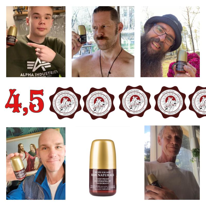 Hur bra är Raw Naturals, Goof Proof Antiperspirant Deodorant?
