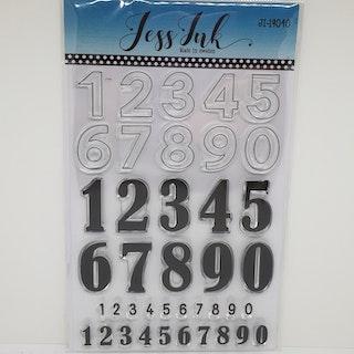Siffror JI-19040