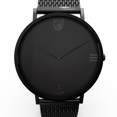 Number3 - Classic Black (40 mm)