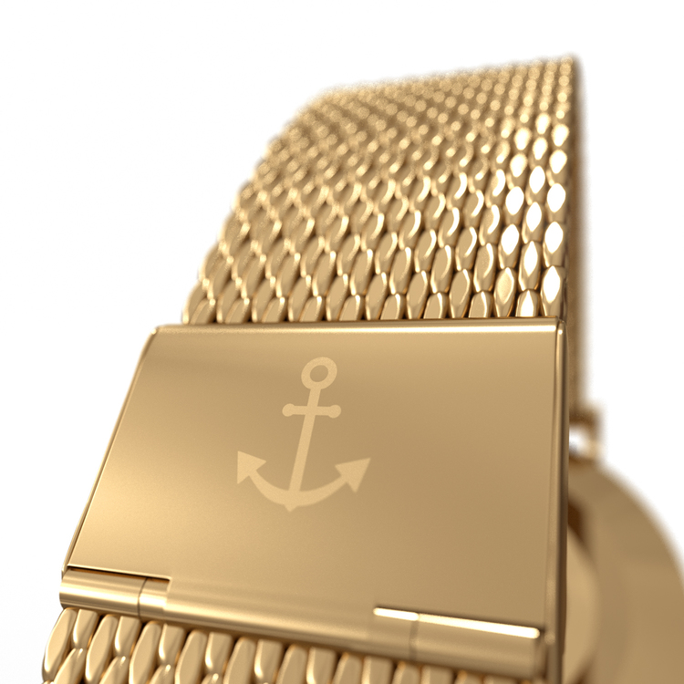 Number3 - Classic Gold (40 mm)