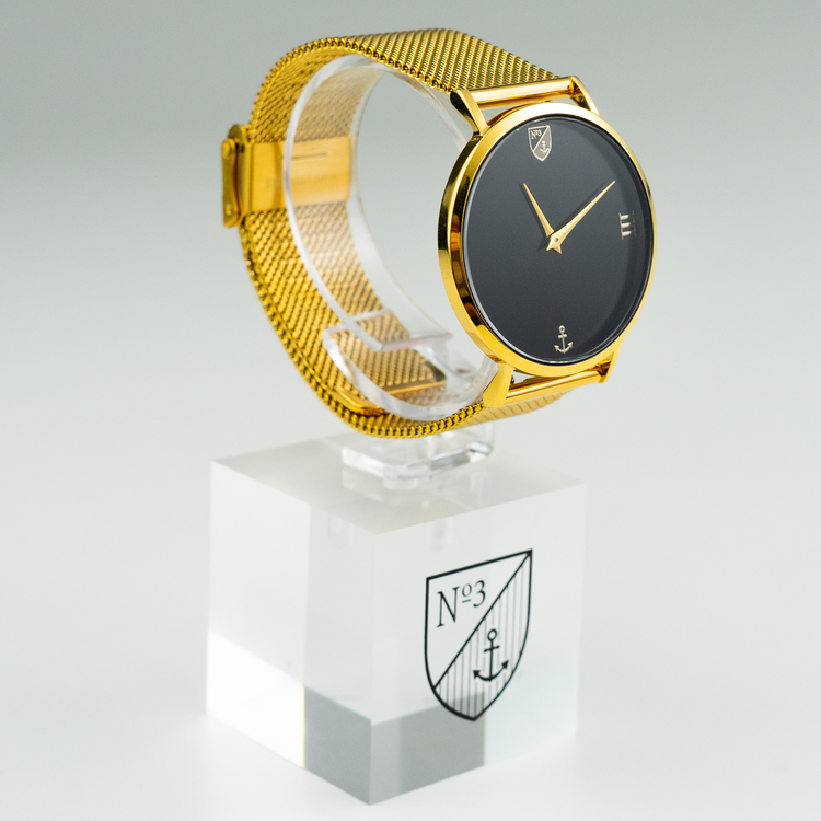 Number3 - Classic Gold (36 mm)
