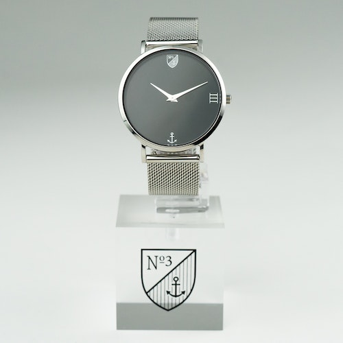 Number3 - Classic Silver (36 mm)