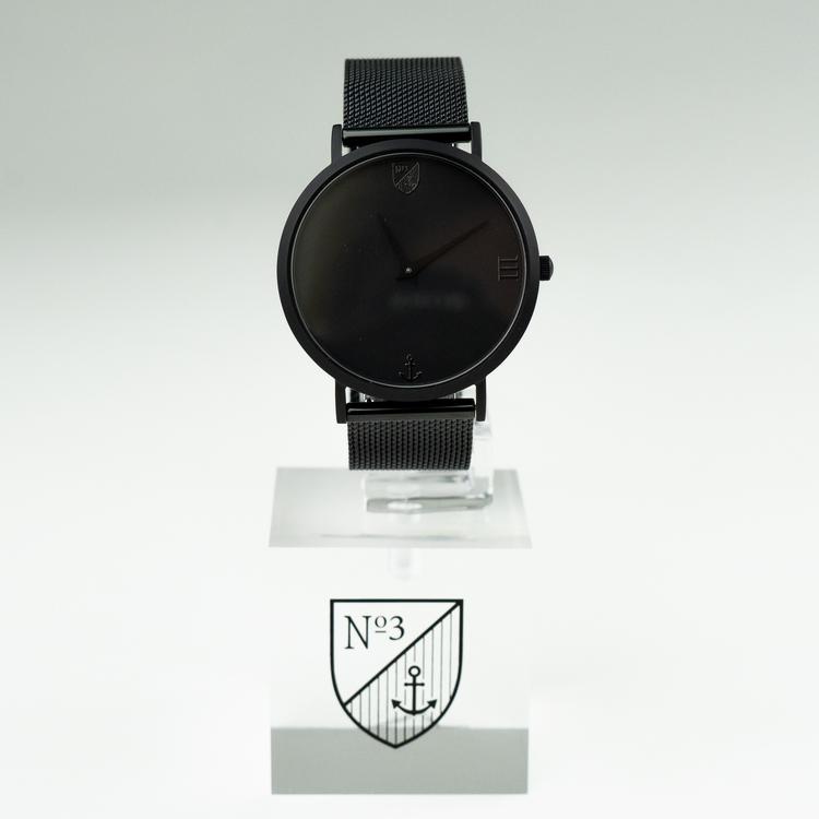 Number3 - Classic Black (36 mm)