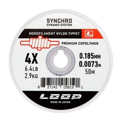 Synchro Monofilament Tippet