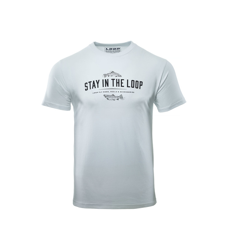 Stay In The Loop T-shirt White