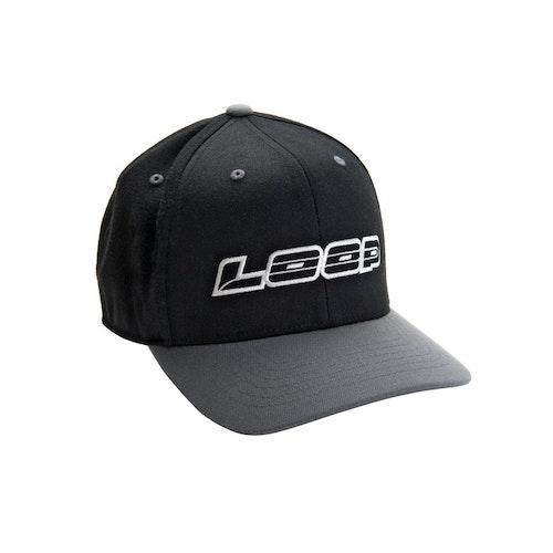 Loop Classic Snapback Cap, Black/Grey