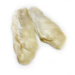 Snowshoe Rabbit Feet - Natural