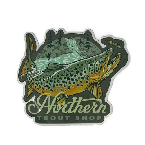 Northern Trout Shop Decal