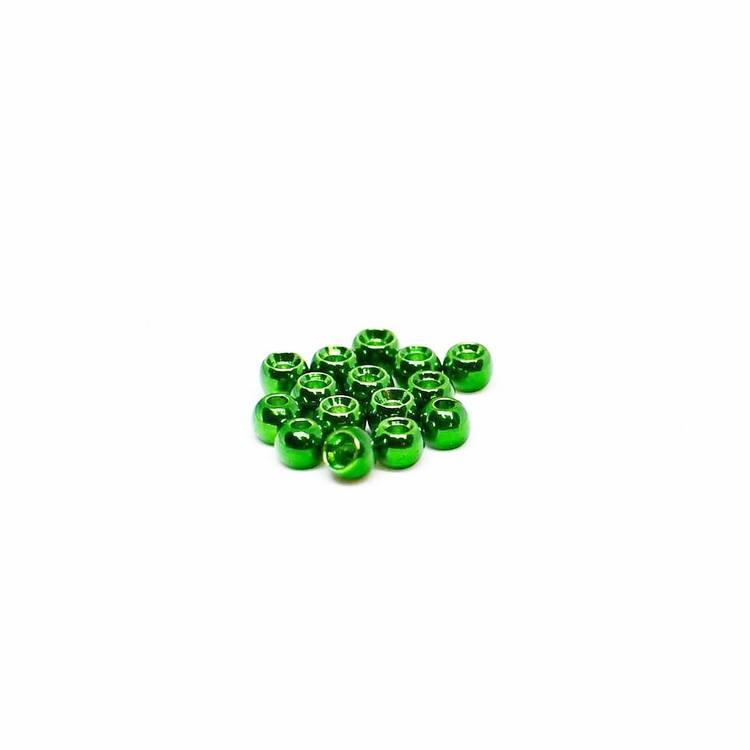 Brass Beads - Green