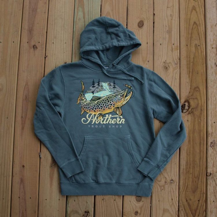 Northern Trout Shop Hoodie