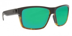 Costa SLACK TIDE Matte Black/Tortoise - Green Mirror 580P