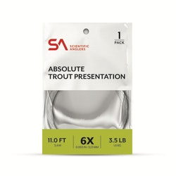 SA Absolute Trout Presentation Leader 14'
