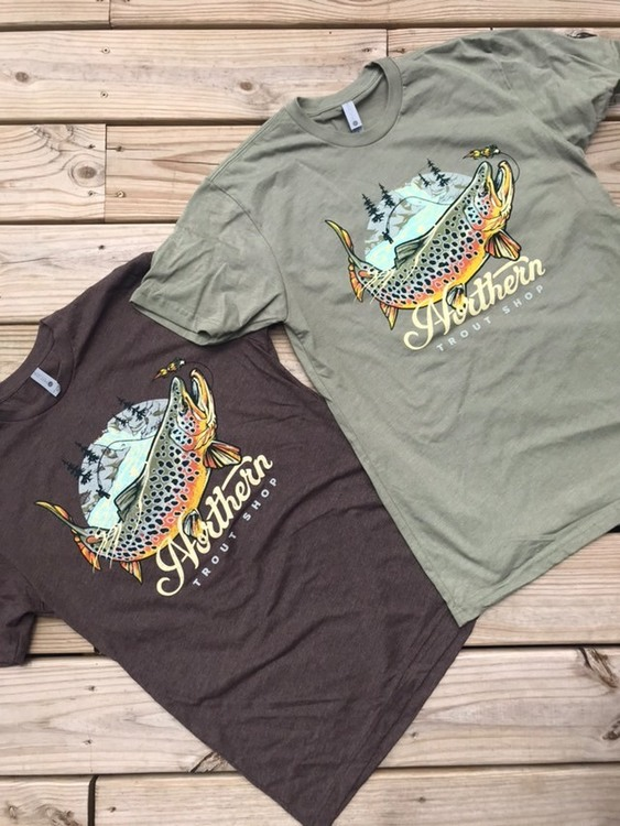 Northern Trout Shop Tee
