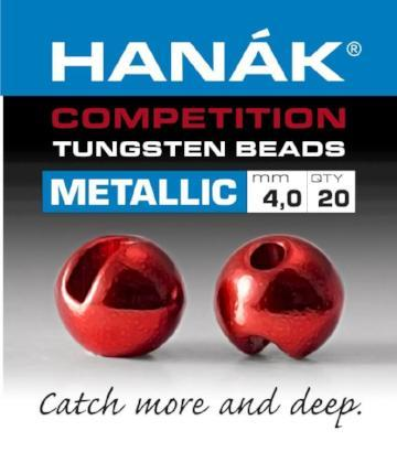 Hanak Metallic Slotted Tungsten Beads