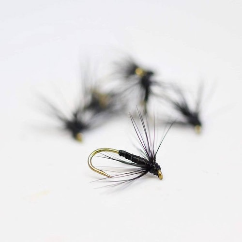 Black Spider #14 Barbless