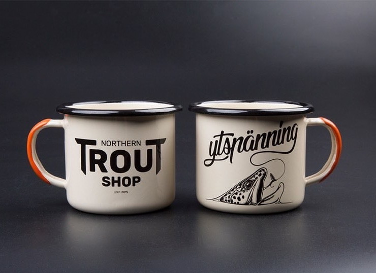 Northern Trout Shop - Mugg