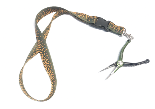 Wingo Rep Your Water Lanyard Brown Trout