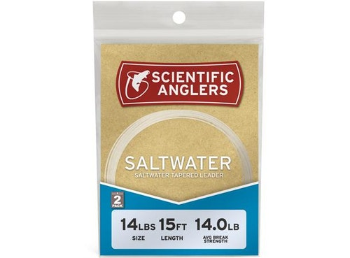 Scientific Anglers Fl Carbon Leader 12' 2-pack