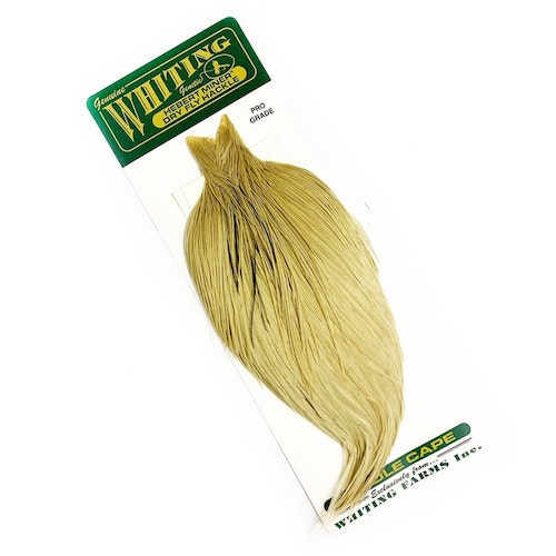 Whiting Herbert Pro Grade Cape - Light Dun Tan