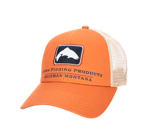 Trout Icon Trucker - Orange