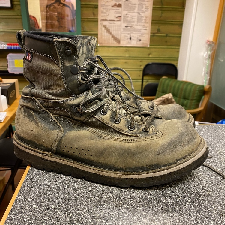 Patagonia Danner Boots Sticky