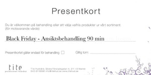 Black Friday - Ansiktsbehandling 90 min